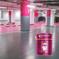 Indoor Alkali-Resistant de rayer le revêtement de sol en résine époxy résistant pour le parking