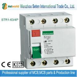 Rompe IEC61008 Residual Circuito Actual