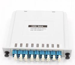 1X8 Fiber Optic CWDM Mux Demux con Small Caso