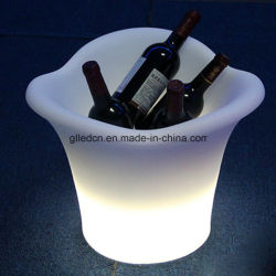 Cubeta de hielo Oval LED para Muebles de Comedor
