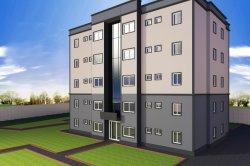 5층 샌드위치 패널 스틸 구조 아파트/스틸 빌딩/조립식 건물