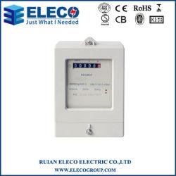 Venda a quente Monofásico medidor eletrônico de quilowatt hora (DDS858)