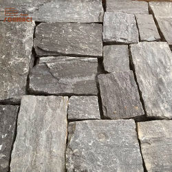Decorativa al aire libre los azulejos de pared de piedra pizarra