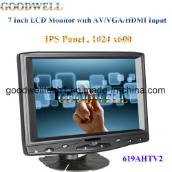 Panel IPS 1024X600 de 7 pulgadas táctil LCD TFT
