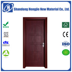 Madera laminada Environmental-Friendly compuesto de plástico de puerta interior