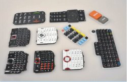 GummiKeypad für Mobile, Handy, PDA, Custerized Keypad, IMD, P+R