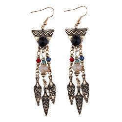 Commerce de gros Fashion Designs Rhinestone perlés Bijoux Vintage Earring Femmes