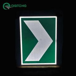 Qsttrafficの新製品情報処理機能をもった太陽動力を与えられたLEDの反射交通標識