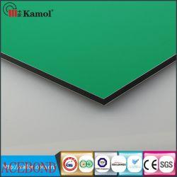Custom-Made de haute qualité de l'argent ou d'or miroir matériaux décoratifs en aluminium de 2 mètres Alucobond panneau composite aluminium