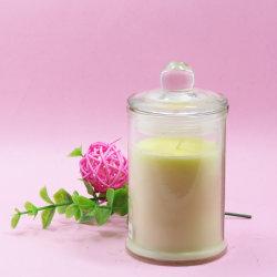 De Kleur van de Weggevertjes van het huwelijk bemerkte de Goedkope Kaarsen van de Kruik van het Glas