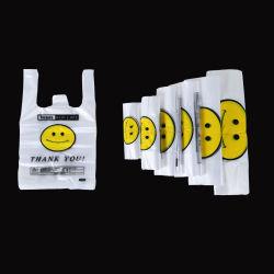 Impressão do logótipo do design personalizado de Corte de plástico biodegradável PE Sacola de Compras