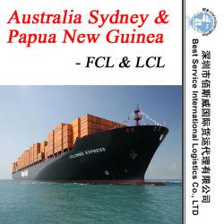 Trasporto Australia Sydney dello spedizioniere di trasporto/spedizioniere della Papuasia Nuova Guinea - mare