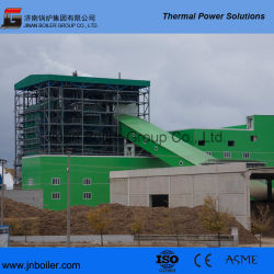 ASME/Ce 130 t-/hdampf/Heißwasser/Thermal-/Kohle-Dampf/Öl/Gas-/industrieller/Stepped+Travelling Gitter-Lebendmasse-Dampfkessel für Kraftwerk