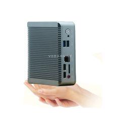 باي ترايل فانless J1900 Dual LAN Nano PC / Mini دعم الكمبيوتر الشخصي / كمبيوتر السيارة VGA+HDMI