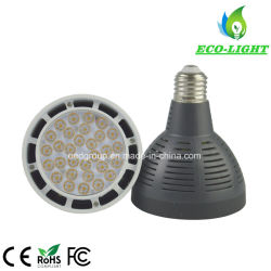 10 /15 /25 /45 /60 Osram 칩 40W G12 E27 PAR30 LED 전구의 광속 각