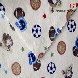 KidのWearまたはBlanketのための漫画Printed Cotton Flannel Fabric