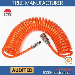 Пневматический спиральный воздушный шланг гидравлического шланга (04120001 PU спираль)