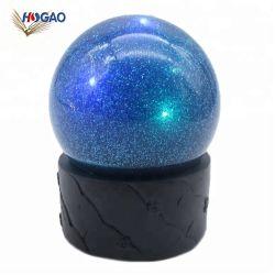 Творческие полимерная смола дешевые современные LED снегопад снег земного шара для интерьера