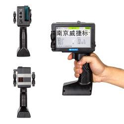 자동 휴대용 다중 인쇄 핸드헬드 잉크젯 프린터(날짜
