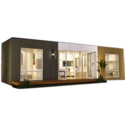 Un buen aislamiento de Madera Prefabricadas modulares Casa contenedor de almacén