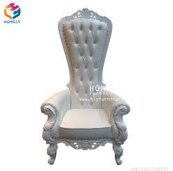 Wedding/ Coffee Shop/ Nail Salon Decorazione Usato King Throne Chair