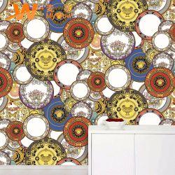 Surface imperméable en PVC de haute qualité de papier peint papier peint de résumé