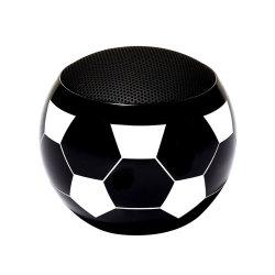 Novas chegadas Best Business Dom Futebol grossista OEM Bluetooth sem fio da buzina de forma pequena bola de futebol de alto-falante