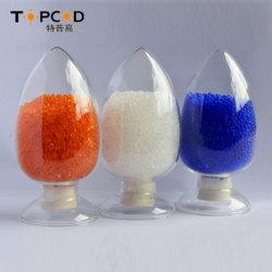 Alimentación a granel Bolsa Azul/Naranja Gel de sílice indicativo para el filtro de secado, 1-3/2-4/3-5 mm