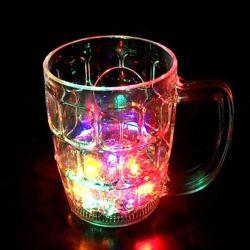 Venda por grosso de OEM de plástico barato Multicolor LED acenda Cup