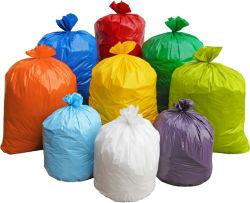 Polyéthylène noir Wheelie Bin transporteur des chemises de sacs de déchets Corbeille déchets biodégradables sac en plastique à ordures ordures en rouleaux
