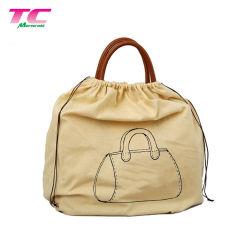 Fabrik-Preisgroße Drawstring-Beutel, personifizierte Druck-Baumwolle/Segeltuch/Samt/Satin/nicht gesponnener Schutzabdeckungs-Beutel für Handtaschen/Kleidung/Schuhe/Spielwaren