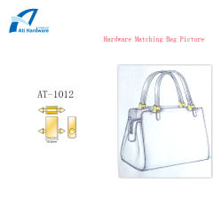 En vogue style chaud poignée en métal Mesdames sac pour les ventes d'accessoires
