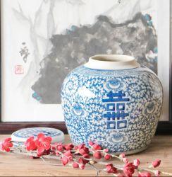 Reproduction Antique vase en porcelaine chinoise