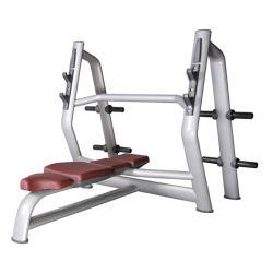 운동 장비 Technogym 올림픽 무게 평평한 긴 의자