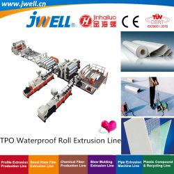 Jwell-HDPE|ПВХ|Tpo|EVA пластиковый водонепроницаемый Geomembrane плата|лист|пластину переработки сельскохозяйственных решений машины экструдера