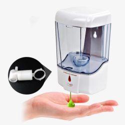 센서 공용 화장실 손 살균기 터치 프리 센서 벽 장착된 액체 비누 디스펜서 대형 Capacity700ml 어댑터/배터리 전원