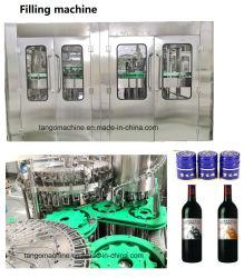 Auto bouteille en verre de bière boisson gazéifiée Ligne d'emballage de remplissage de liquide