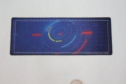Yugland étanche noir Tapis de Souris de Jeu avec Bords cousus grand tapis de souris avec de la soie Logo d'impression