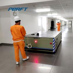 Laufkatze-Schienen-Übergangskarre der Hochleistungsmaschinerie-30ton steuerbare für Werkstatt-Materialbehandlung