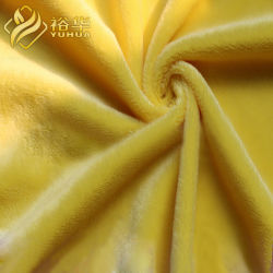 La Chine de haute qualité 100% polyester 1mm Minky Velboa Diamond Super doux pour les jouets en tissu