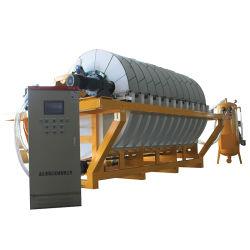 Вращающийся вакуумный фильтр горнодобывающих предприятий керамической вакуумный фильтр