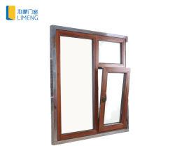 Деревянные окна цвета наклона и поворота для создания Materilas окна