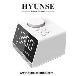 Multimedia Bluetooth Alarmuhr-Lautsprecher mit Digital-Stereoradiounterstützungs-TF-Karte, u-Platte, ZusatzHyunse K11