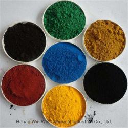 Suministro directo de la pintura y óxido de hierro rojo/azul/negro/amarillo/verde/marrón