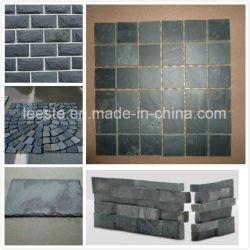Китайский природных Серый, Черный культуры Slate плитки, кровельной черепицы