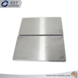 Plaat 2 2mm van het Carbide van het wolfram mm Gesinterde van het Carbide van het Wolfram