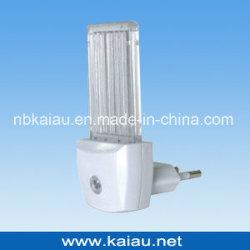 GS 승인되는 유럽 플러그 광전지 센서 LED 밤 빛 (KA-NL317)