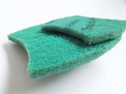 Лучшие продажи бытовых зеленый красочные кухня губкой поверхностей