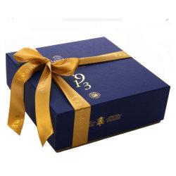 化粧品/香水/Electronicのためのリボンが付いているカスタム贅沢な包装のクラフトのギフト折るボックス