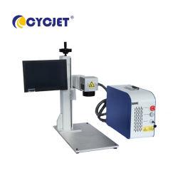 Mopa marcadora láser Cycjet 30W de imagen en Color de impresión en materiales de aluminio